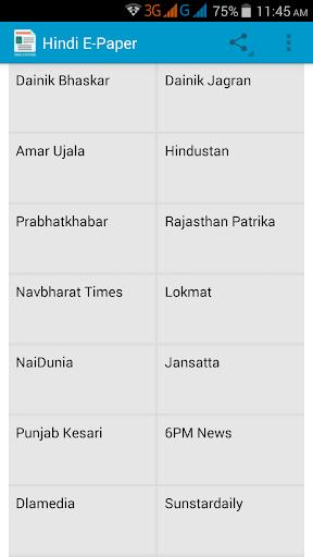 Hindi News EPapers India