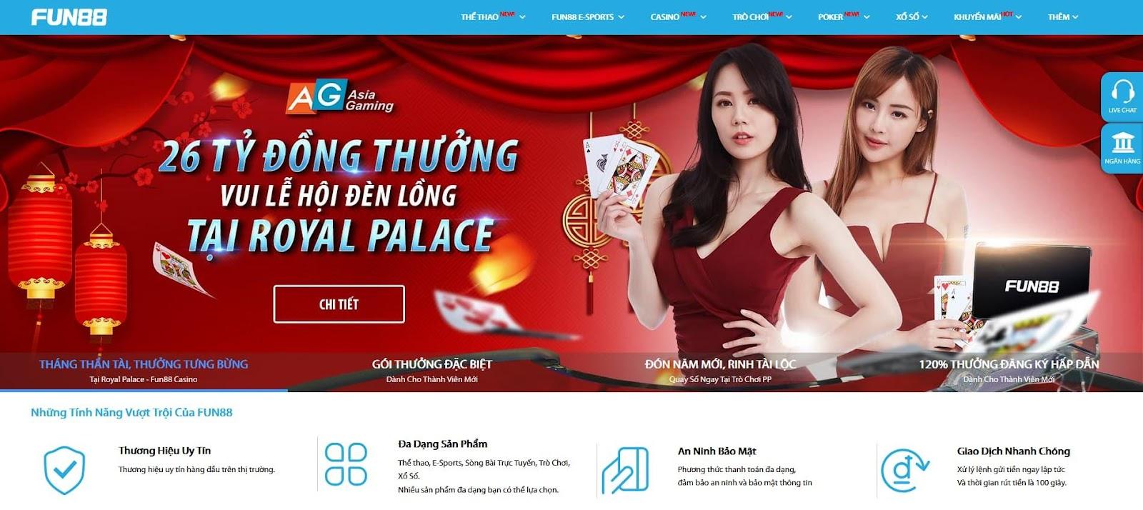 Fun88 - Đánh giá nhà cái uy tín Fun88, link vào Fun88 mới nhất 2021