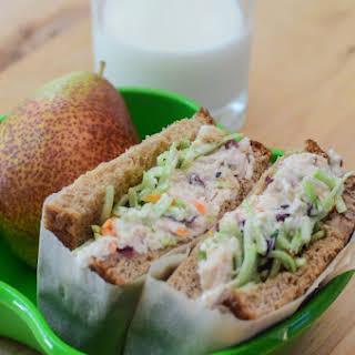 Crunchy Sweet Chicken Salad Sandwiches.