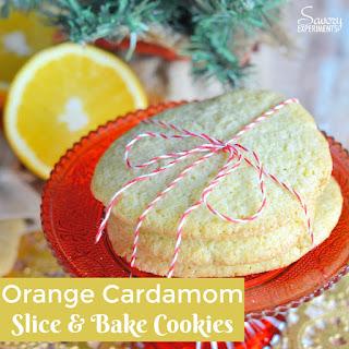 Orange Cardamom Cookies.