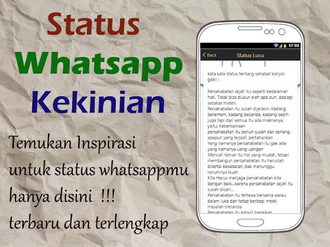 Download Status Wa Kekinian Apk Latest Version App By Big