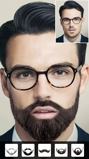 Beard Man - Beard Styles & Beard Maker 4.0.6 screenshots 1