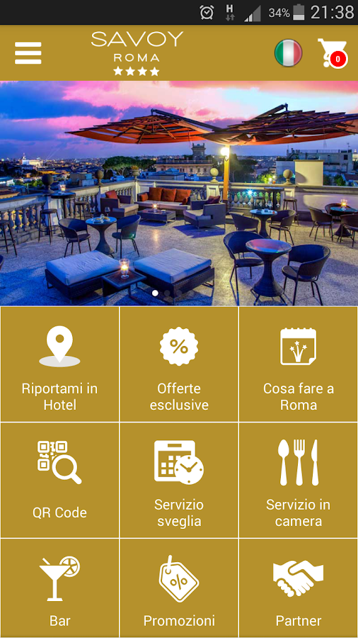Hotel Savoy Roma- screenshot
