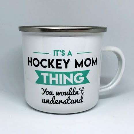 Mugg - It's a hockey mom thing - turkos
