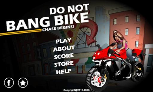 Do Not Bang Bike