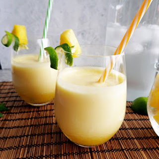 3-Ingredient Pineapple Coconut Water Slushies.