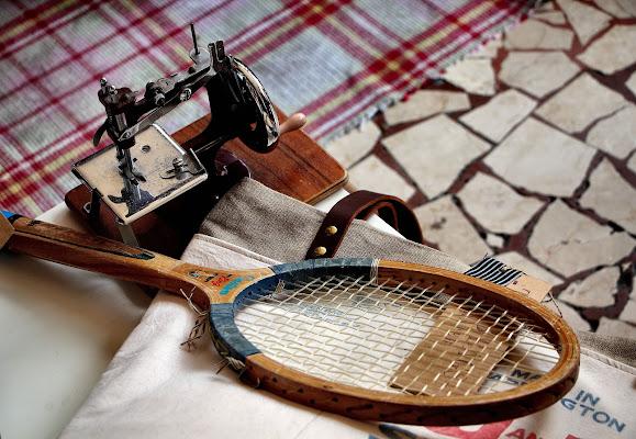 La racchetta e la macchina da cucire di AlessandroDM
