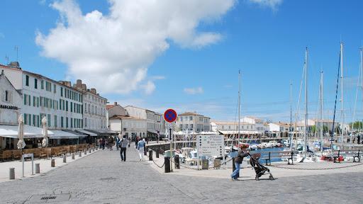 Saint Martin de Ré harbour on Ré island / Ile de Ré