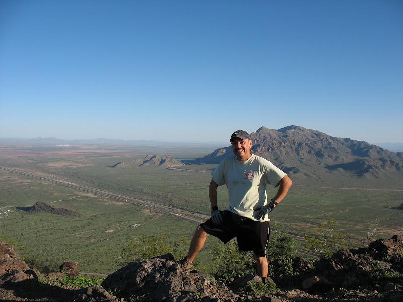 Photo: On top of Picacho Peak