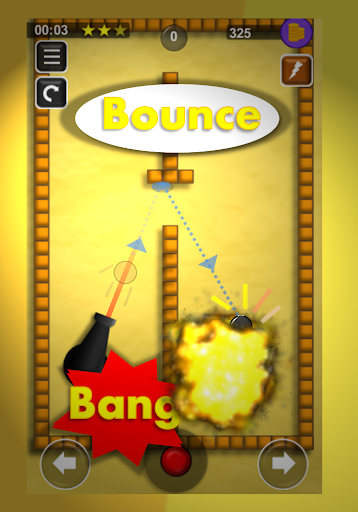 Download Bounce N Bang - Physics Puzzle Premium Version MOD APK 1