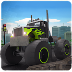 Monster Truck Ultimate Ground Icon