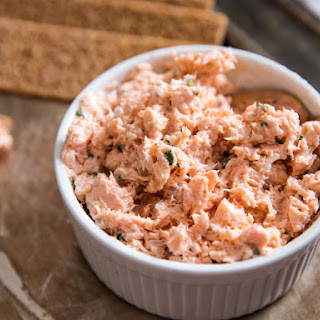 Salmon Rillettes With Chives and Shallots.