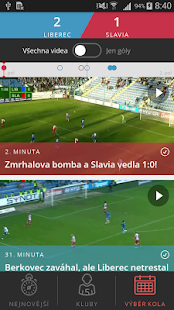 Góly z ligy- screenshot thumbnail