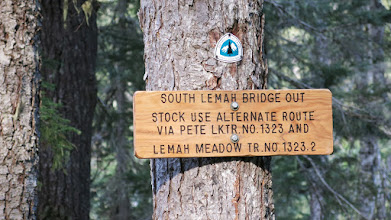 Photo: Pacific Crest Trail--Famous for PCT on west coast, (similar to AT in East Coast).