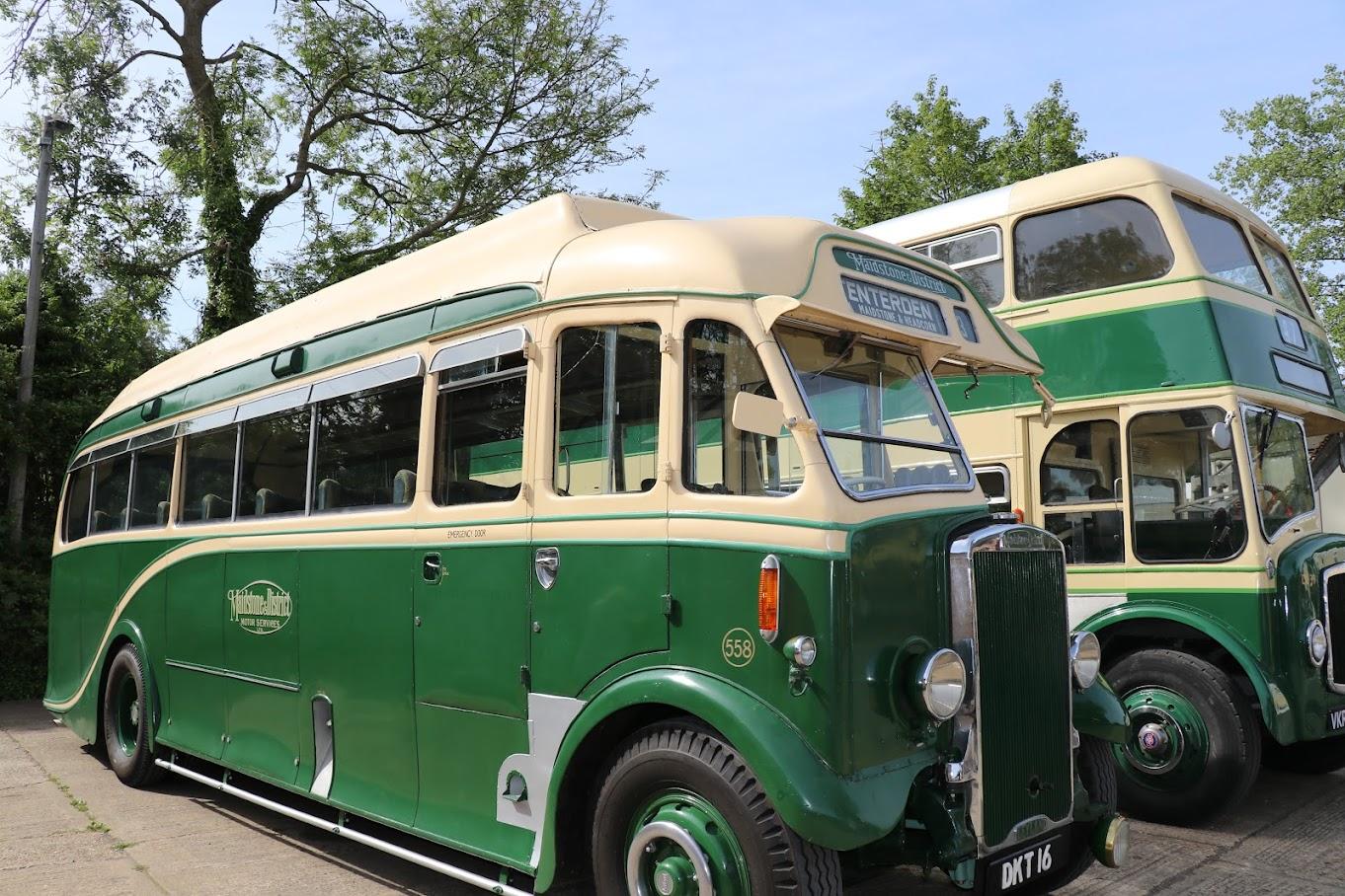 Tenterden Bus Rally 2018 Tenterden Town Station