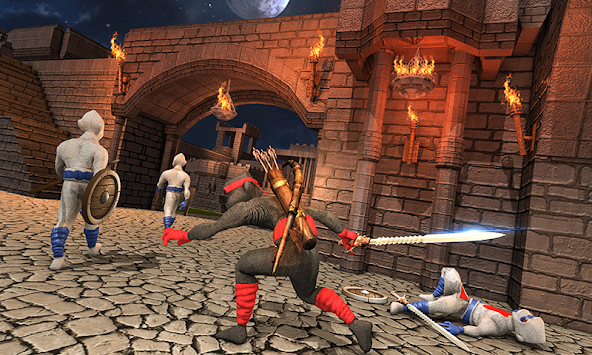 StickMan Shadow Ninja Kungfu Saga Warrior Arashi apk screenshot