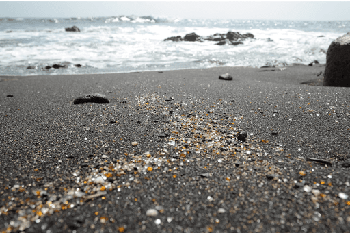 Glitter no Mar