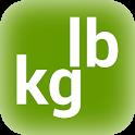 weight conversion calculator icon