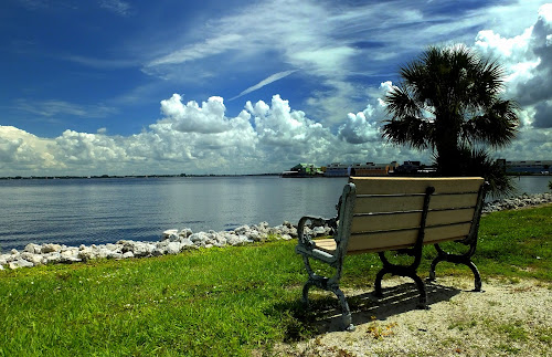 Charlotte Harbor by Mike Herms - City,  Street & Park  Vistas (  )