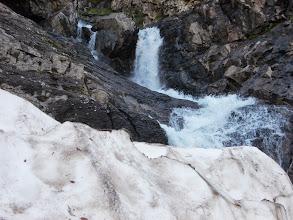 Photo: Cascades sur le déversoir de l'Etang Long