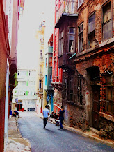 Photo: Our apartment through Airbnb in Beyoglu neighborhood of Istanbul.  Very bohemian, residential, off the beaten path for sure.