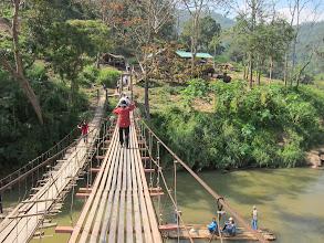 Photo: Bridge to elephant camp