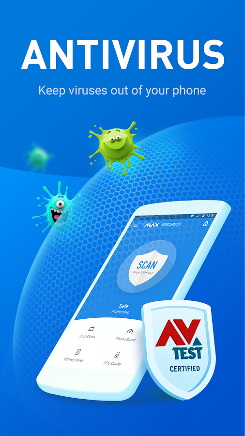 Virus Cleaner - Antivirus, Booster (MAX Security)- screenshot