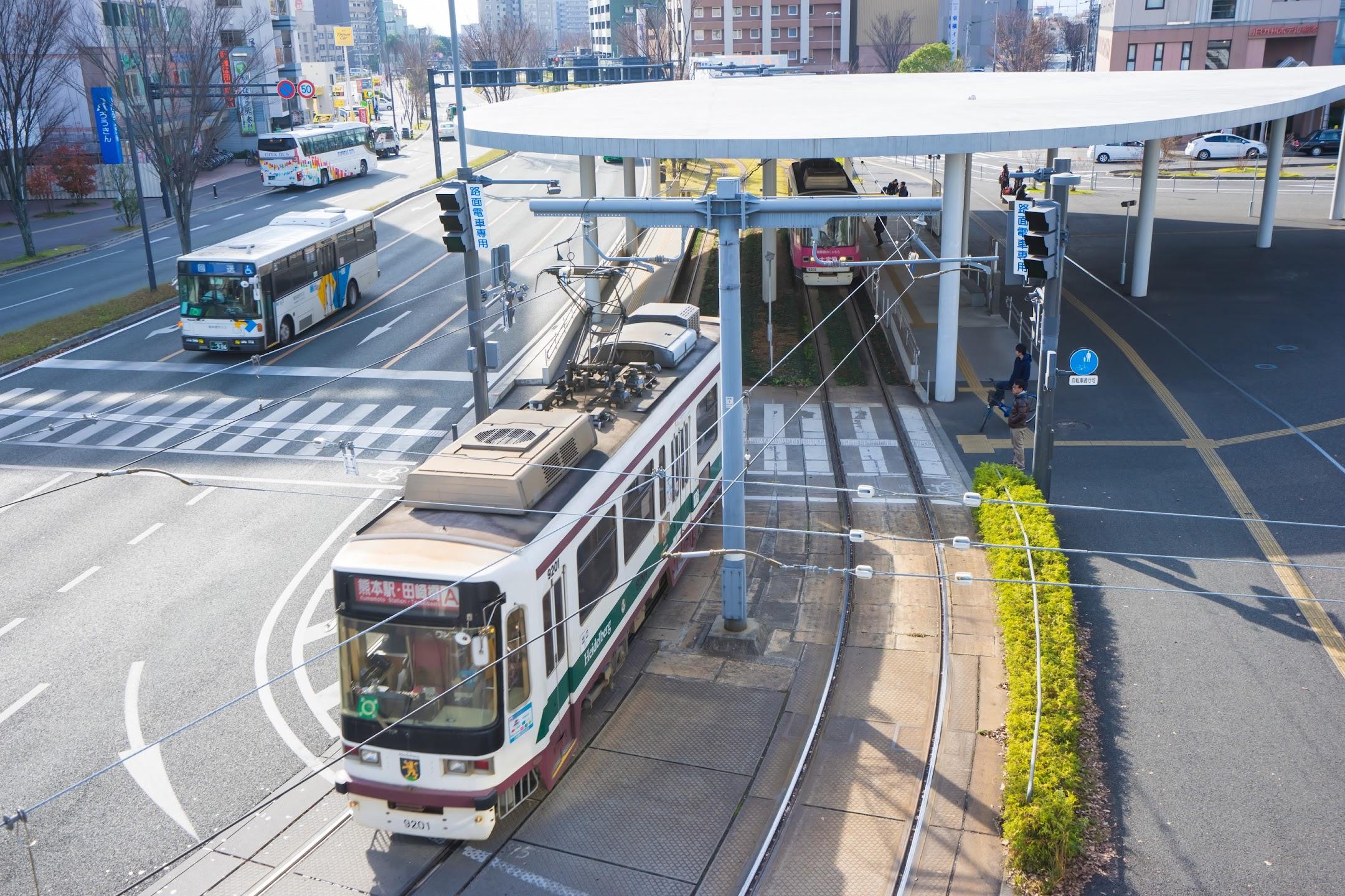 熊本 市電(路面電車)2