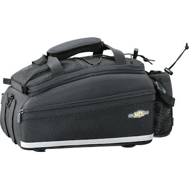Topeak MTS Strap Mount TrunkBag DXP Rack Bag with Expandable Panniers - 22.6 Liter