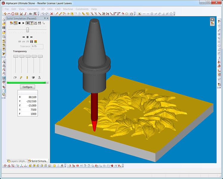 ALPHACAM Art предоставляет пользователю возможность создавать, редактировать, комбинировать, сглаживать модели непосредственно перед выводом их на обработку.