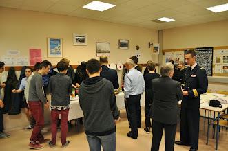 Photo: Le buffet réalisé par les élèves