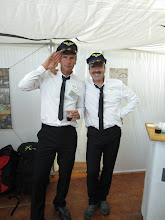 Photo: SupAir Captains dressed for the SupAir Airline stheme