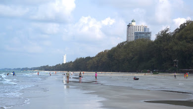 Photo: view of condo from beach