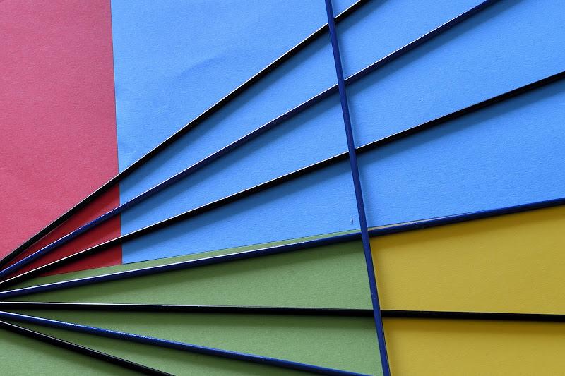 Colors and abstract Kandinsky di Matteo Faliero