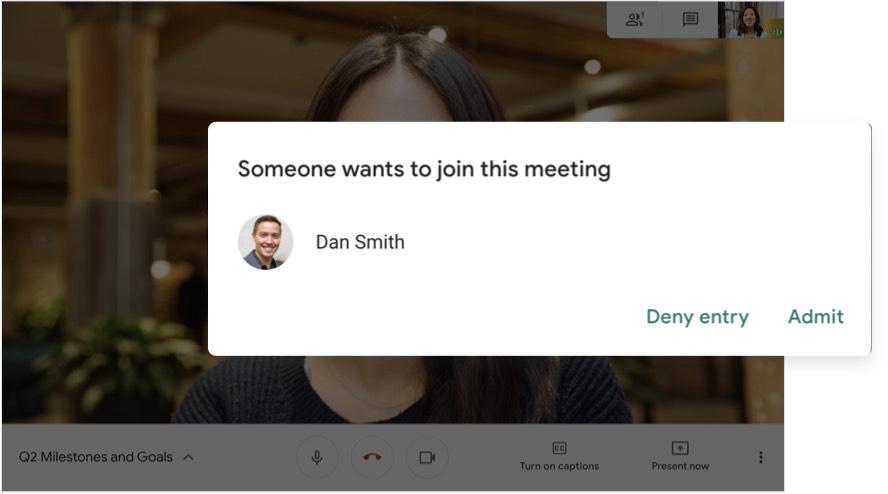 Rapat dengan aman
