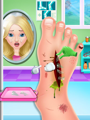 Nail & Foot doctor - Knee replacement surgery apkpoly screenshots 7