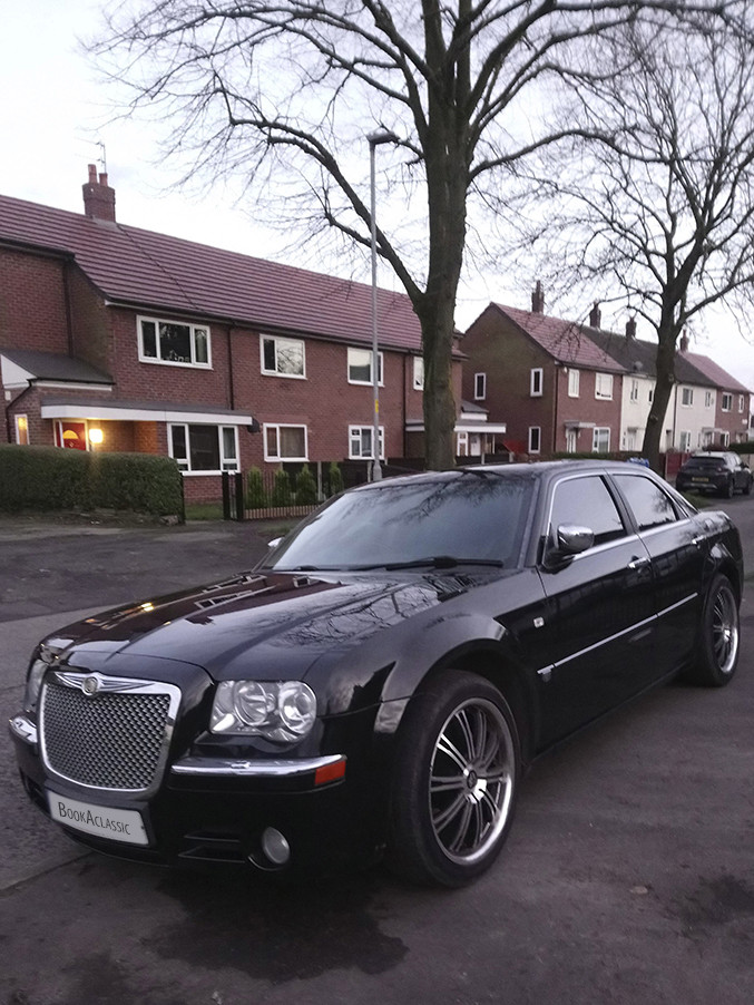 Chrysler 300c Hire Manchester