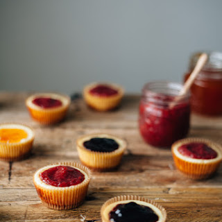 Mini Ricotta + Parmesan Cheesecakes Recipe