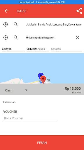ONTIME ( Transportasi Online) screenshot 4