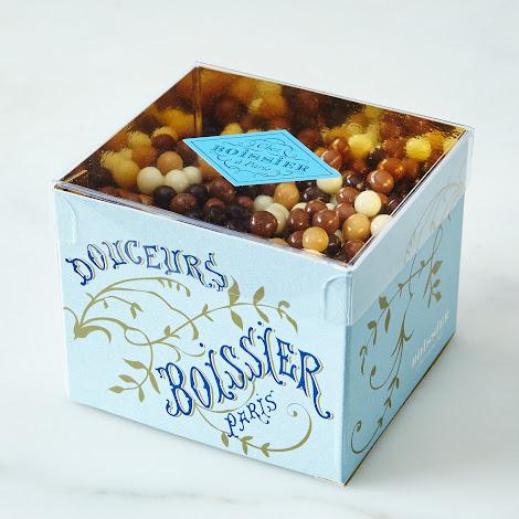 Holiday Crispy Chocolate Pearls