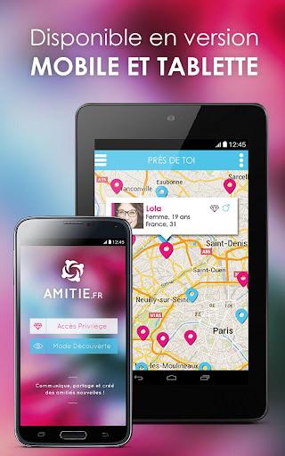 玩免費遊戲APP|下載Amitié : chat, rencontre, amis app不用錢|硬是要APP