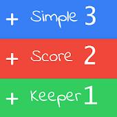 Simple ScoreKeeper