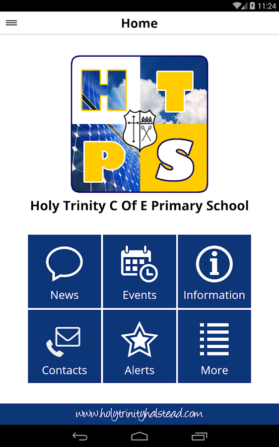 Holy Trinity Primary School- screenshot