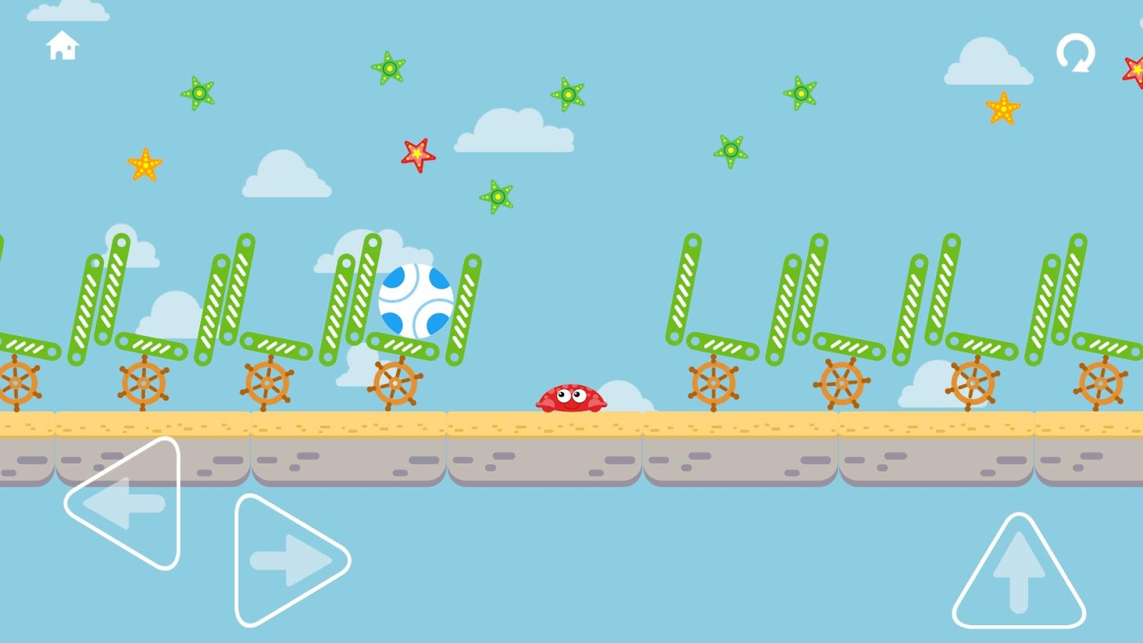 Crabby Ball- screenshot