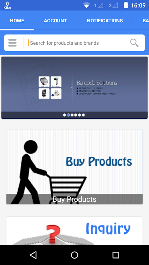 Alpha-e Barcode Solutions- screenshot