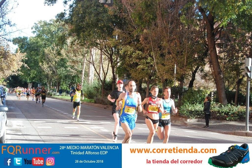 Diana Martín primera española en la Media Maratón de Valencia 2018