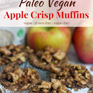 Paleo Apple Crisp Muffins.