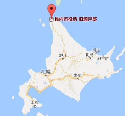 地図:旧瀬戸邸