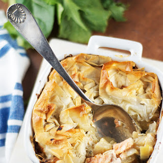 FISH AND FENNEL PIE