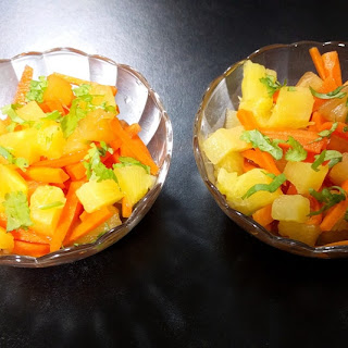 Pineapple-Carrot Salad.